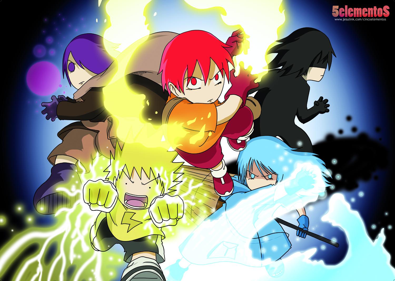 5 Elementos [Manga Shonen] 5elementos2